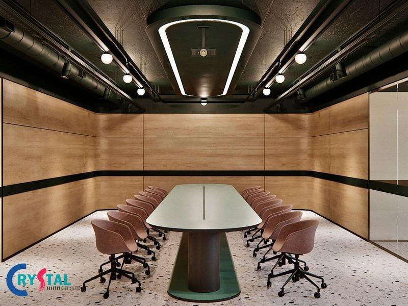thiết kế nội thất văn phòng tại hcm - Crystal Design TPL