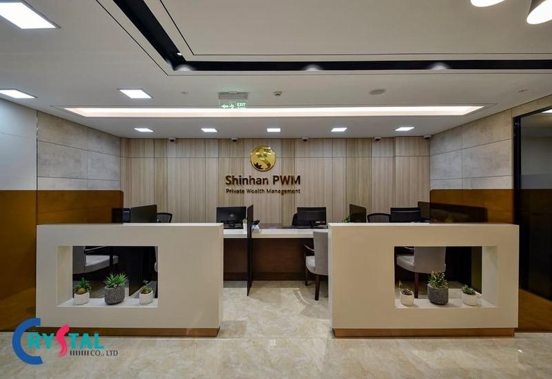 thiết kế phòng giao dịch sang trọng - Crystal Design TPL