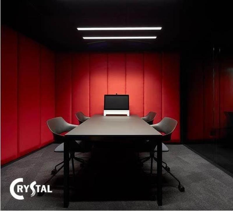 thiết kế phòng họp hiện đại - Crystal Design TPL