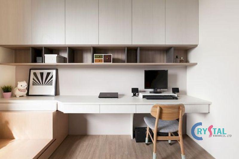 thiết kế phòng làm việc cá nhân - Crystal Design TPL