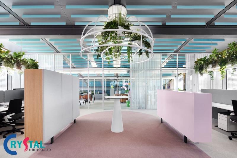 thiết kế phòng làm việc nhỏ - Crystal Design TPL
