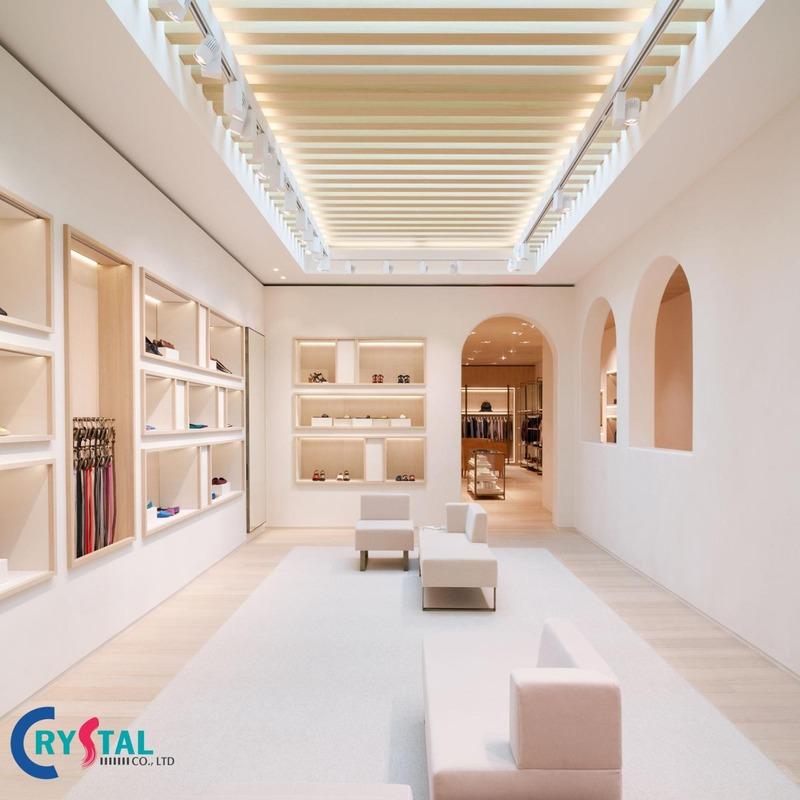 thiết kế shop cửa hàng - Crystal Design TPL