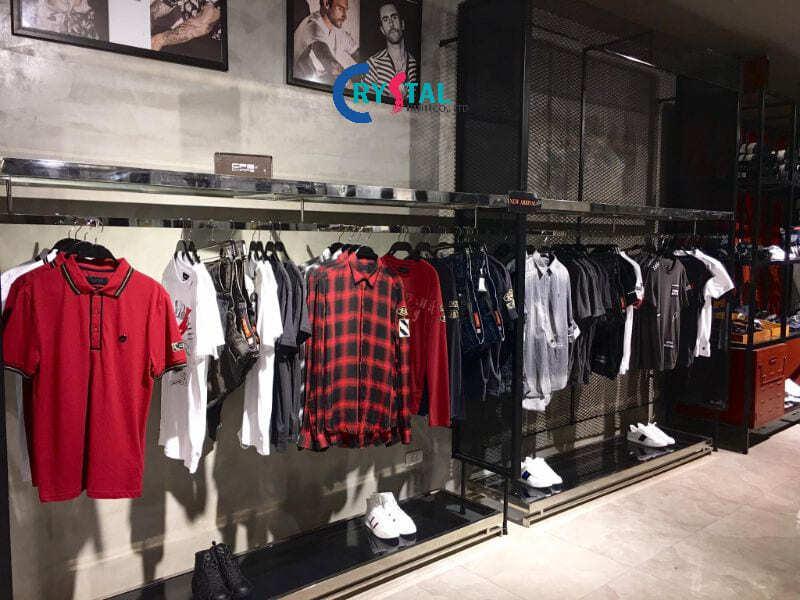 thiết kế shop đồ nam - Crystal Design TPL