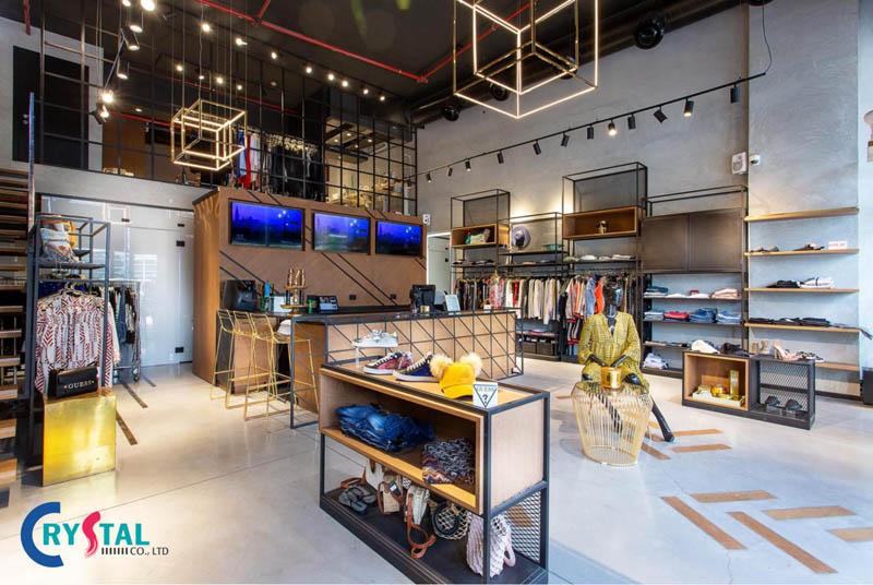 thiết kế shop quần áo đẹp ở đâu - Crystal Design TPL