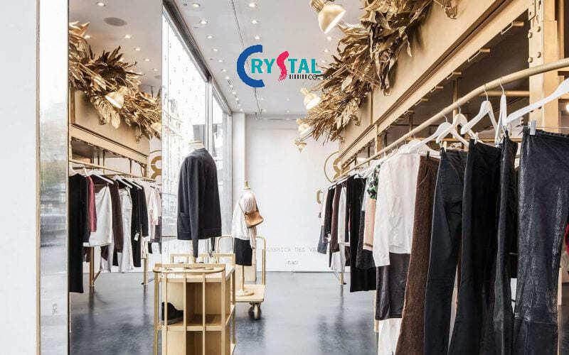 thiết kế shop quần áo nam đẹp - Crystal Design TPL