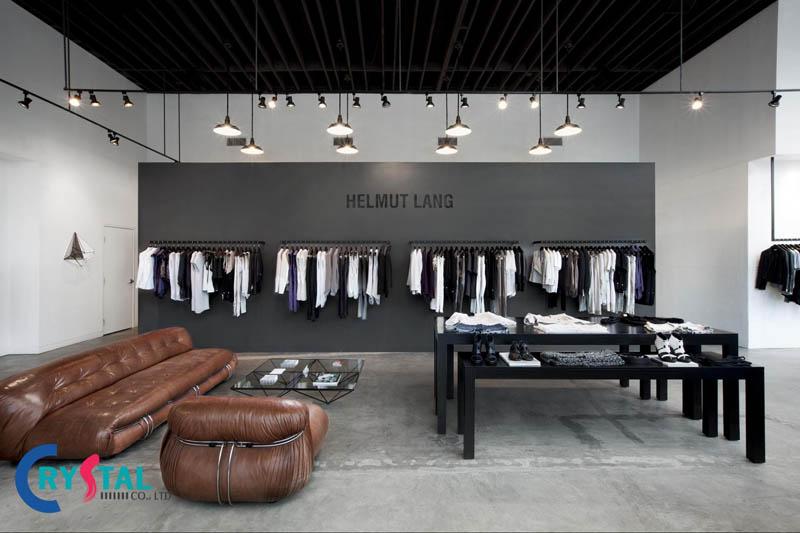 thiết kế shop quần áo nữ - Crystal Design TPL