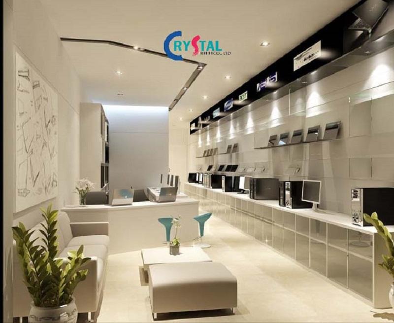 thiết kế shop thời trang đẹp - Crystal Design TPL