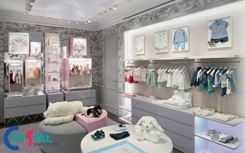 thiết kế shop thời trang giá bao nhiêu - Crystal Design TPL