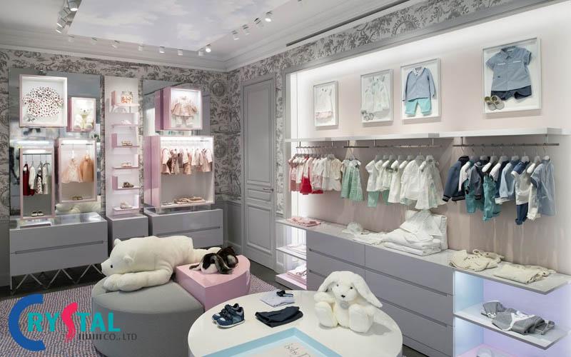 thiết kế shop thời trang nữ - Crystal Design TPL