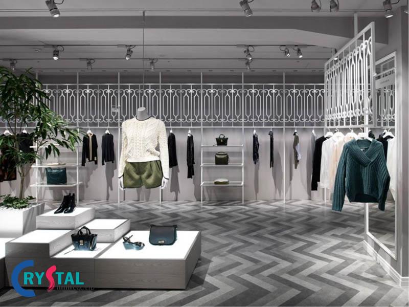 thiết kế shop thời trang - Crystal Design TPL