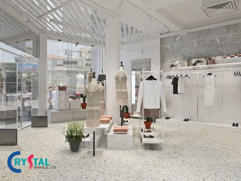 thiết kế shop - Crystal Design TPL
