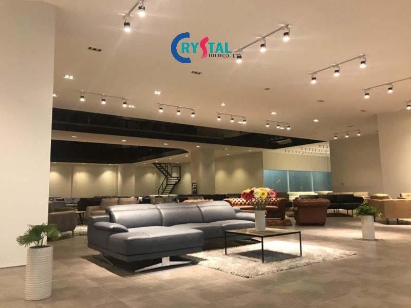 thiết kế showroom - Crystal Design TPL