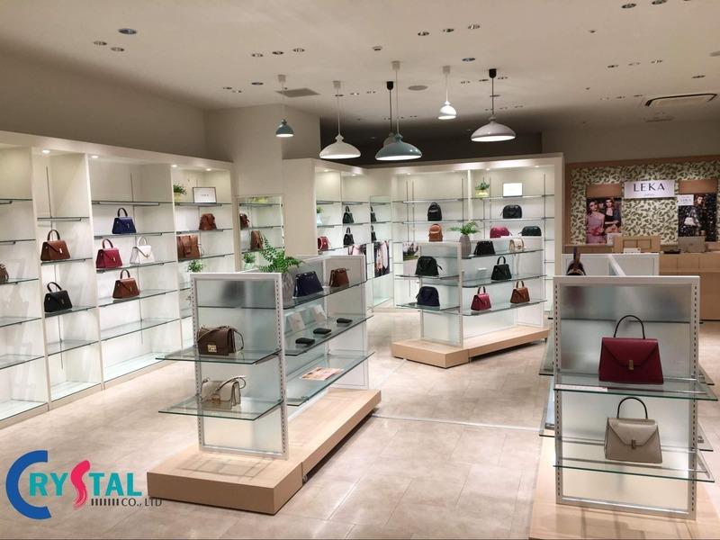 thiết kế showroom cửa hàng - Crystal Design TPL