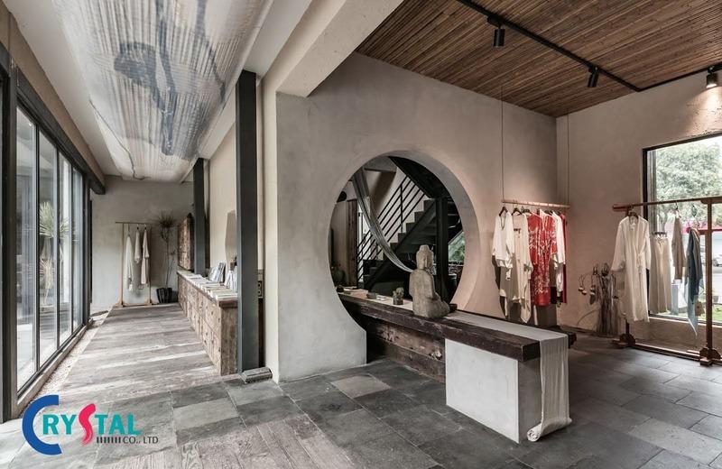thiết kế showroom shop cửa hàng đẹp - Crystal Design TPL