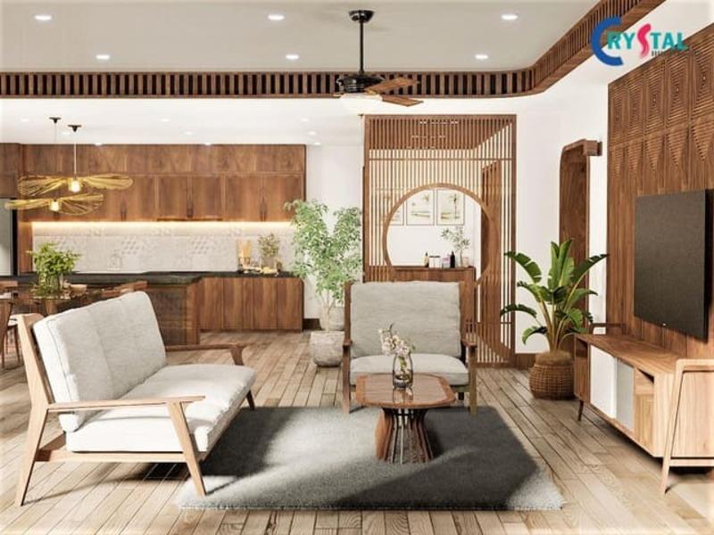 thiết kế thi công nội thất trọn gói hcm - Crystal Design TPL