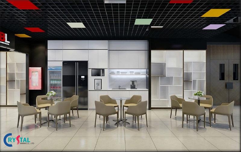 thiết kế thi công nội thất văn phòng chuyên nghiệp - Crystal Design TPL