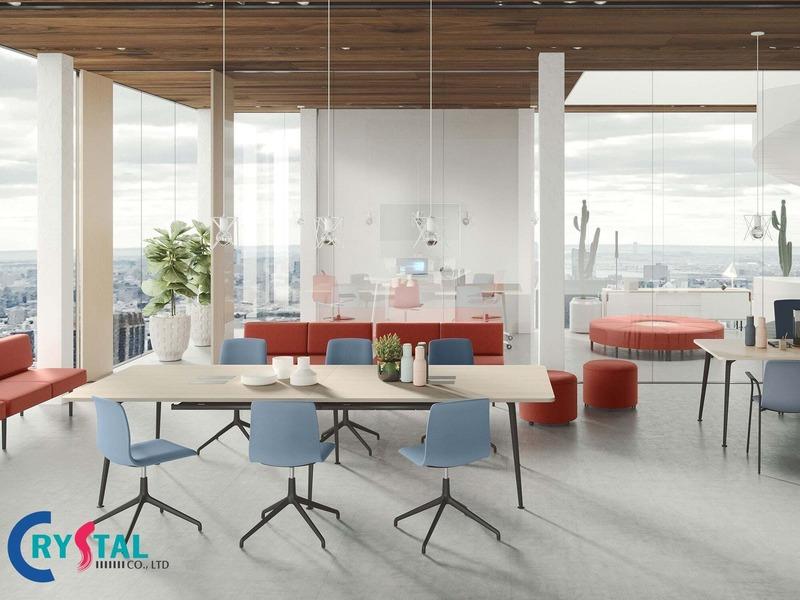 thiết kế thi công nội thất văn phòng hcm - Crystal Design TPL