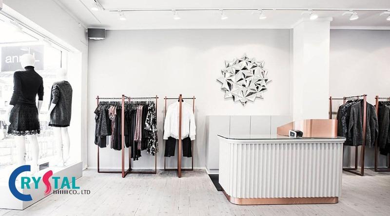 thiết kế thi công shop giá rẻ - Crystal Design TPL