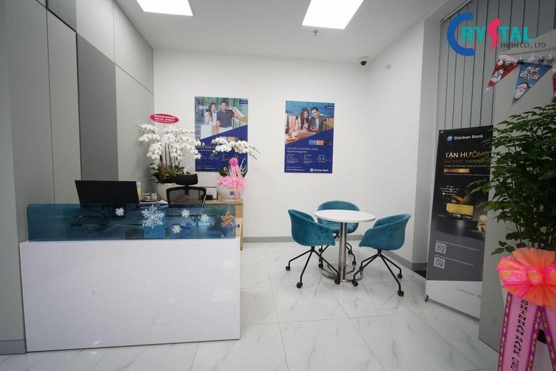 thiết kế thi công văn phòng bds - Crystal Design TPL