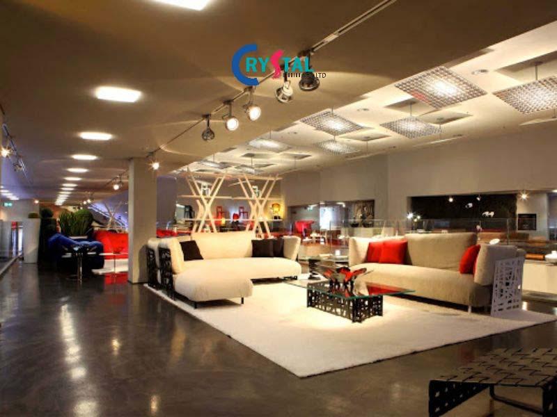 thiết kế và thi công nội thất shop - Crystal Design TPL