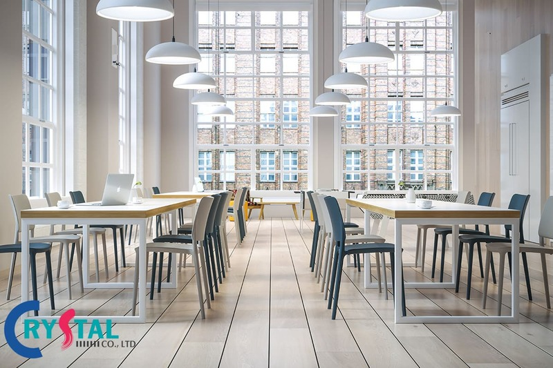 thiết kế và thi công nội thất văn phòng hcm - Crystal Design TPL