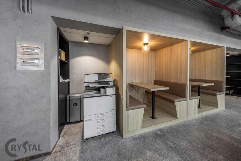 thiết kế văn phòng 100m2 đa chức năng
