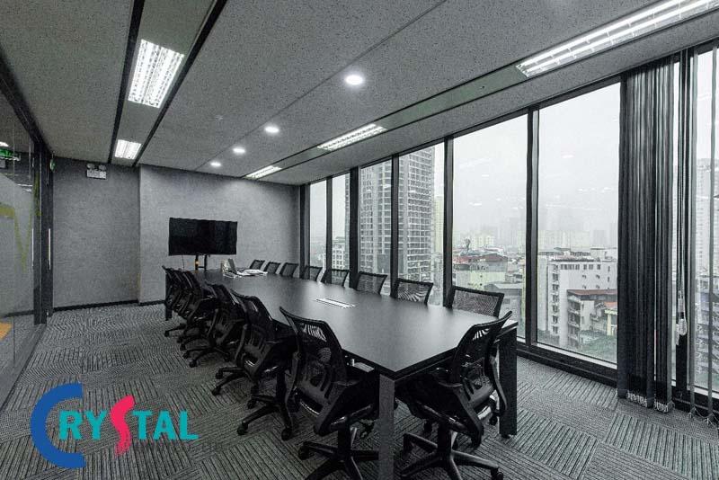 thiết kế văn phòng 100m2 hiện đại nhất