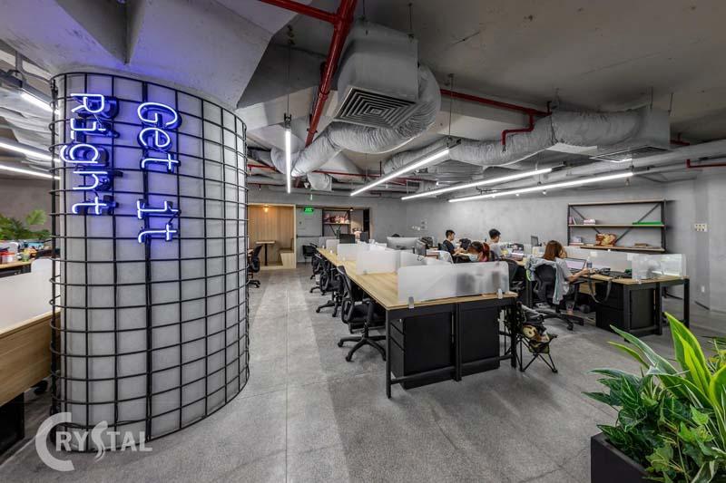 thiết kế văn phòng ảo phù hợp