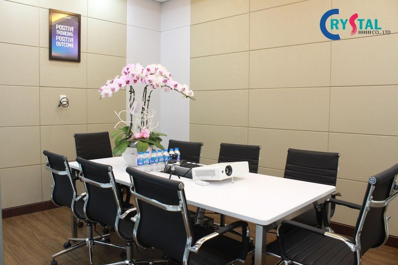 thiết kế văn phòng bds chuyên nghiệp - Crystal Design TPL