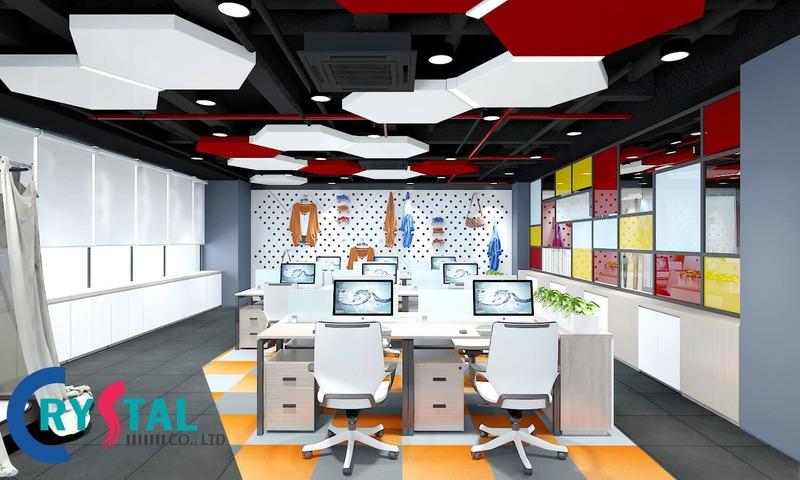 thiết kế văn phòng chuyên nghiệp - Crystal Design TPL