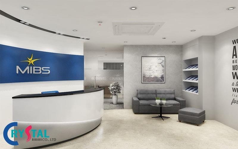 thiết kế văn phòng đại diện gây ấn tượng - Crystal Design TPL