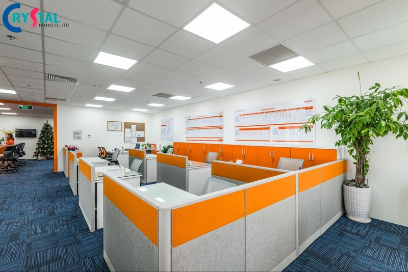 thiết kế văn phòng để làm gì - Crystal Design TPL