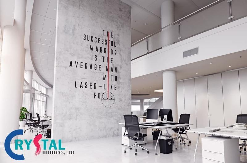 thiết kế văn phòng trọn gói - Crystal Design TPL