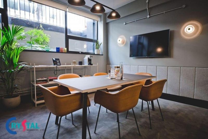 tiêu chuẩn diện tích phòng họp đúng chuẩn - Crystal Design TPL