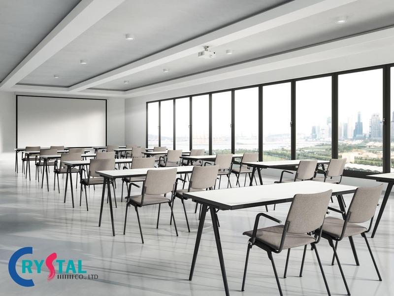 tiêu chuẩn diện tích phòng họp hợp lý - Crystal Design TPL