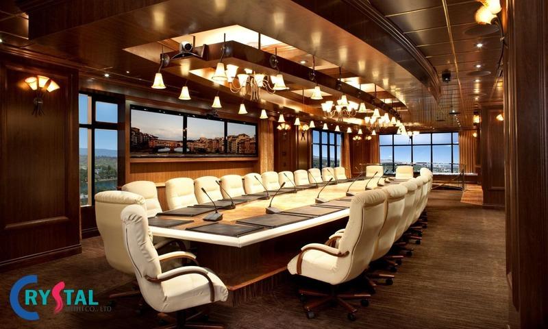tiêu chuẩn diện tích thiết kế phòng họp hợp lý - Crystal Design TPL