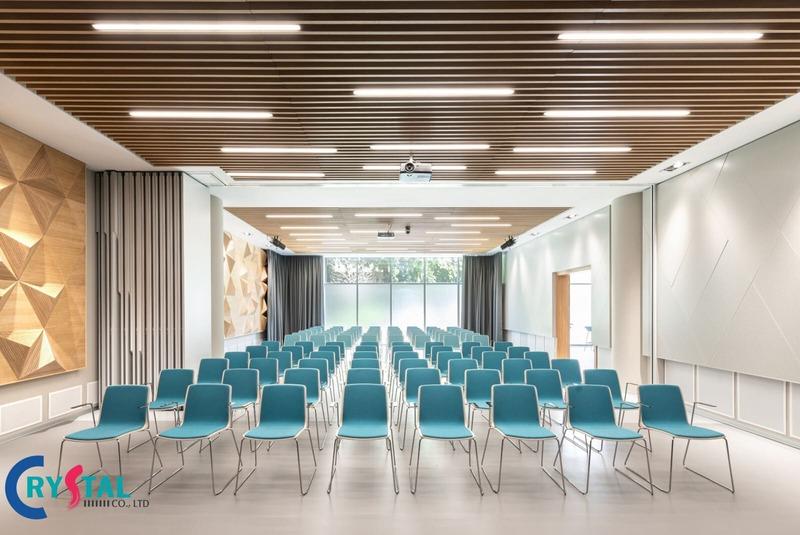 tiêu chuẩn diện tích thiết kế phòng họp - Crystal Design TPL