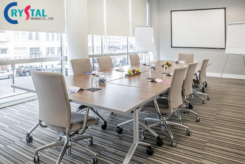 tiêu chuẩn thiết kế diện tích phòng họp - Crystal Design TPL