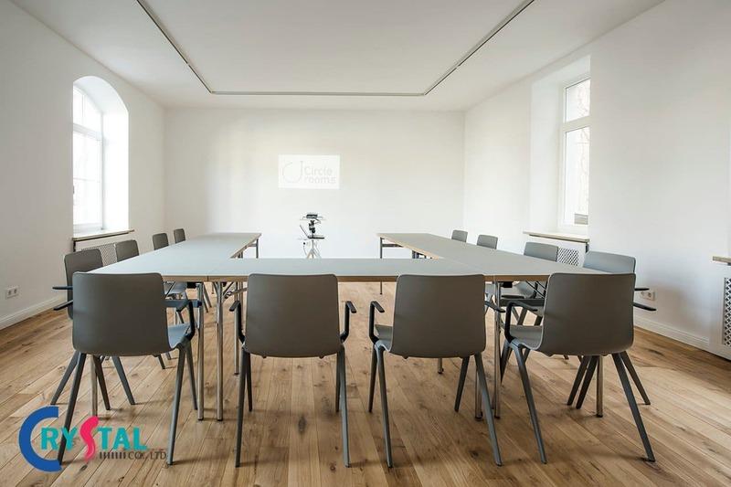 tiêu chuẩn thiết kế phòng họp đúng chuẩn - Crystal Design TPL