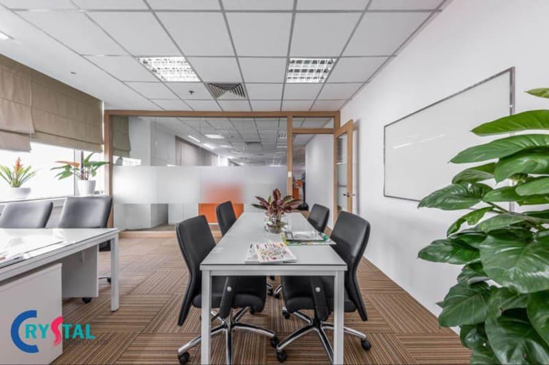 tiêu chuẩn thiết kế văn phòng mới nhất - Crystal Design TPL