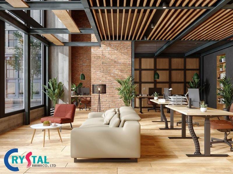 tiêu chuẩn văn phòng xanh - Crystal Design TPL