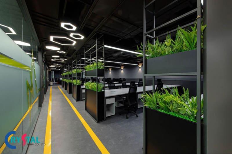 tiêu chuẩn về không gian văn phòng - Crystal Design TPL
