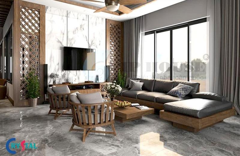 tìm hiểu phong cách hiện đại - Crystal Design TPL