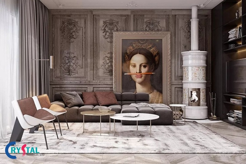 tìm hiểu về phong cách thiết kế nội thất - Crystal Design TPL