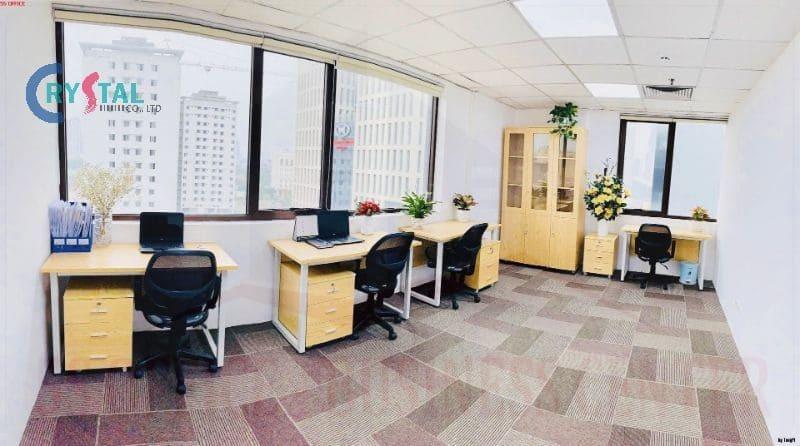 tòa nhà văn phòng cho thuê - Crystal Design TPL