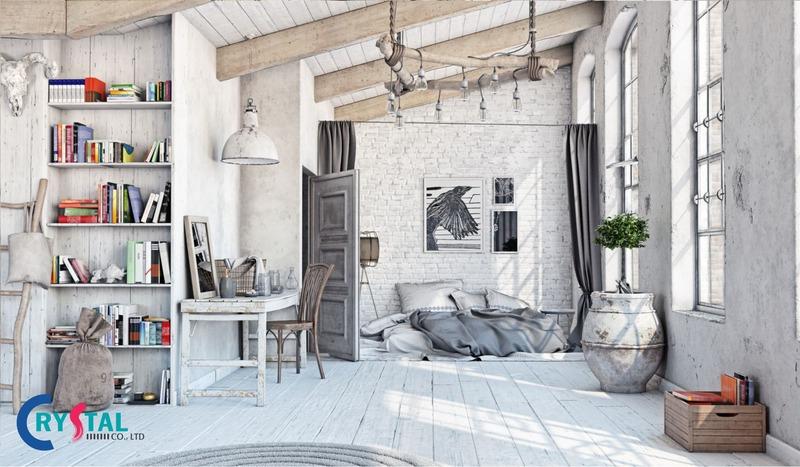 tổng hợp những phong cách trong thiết kế nội thất - Crystal Design TPL