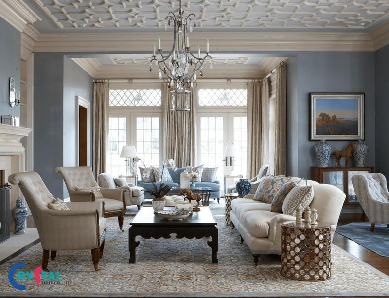 tổng hợp phong cách trong thiết kế nội thất phổ biến - Crystal Design TPL