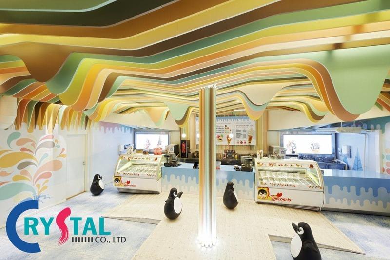 trang trí nội thất văn phòng - Crystal Design TPL