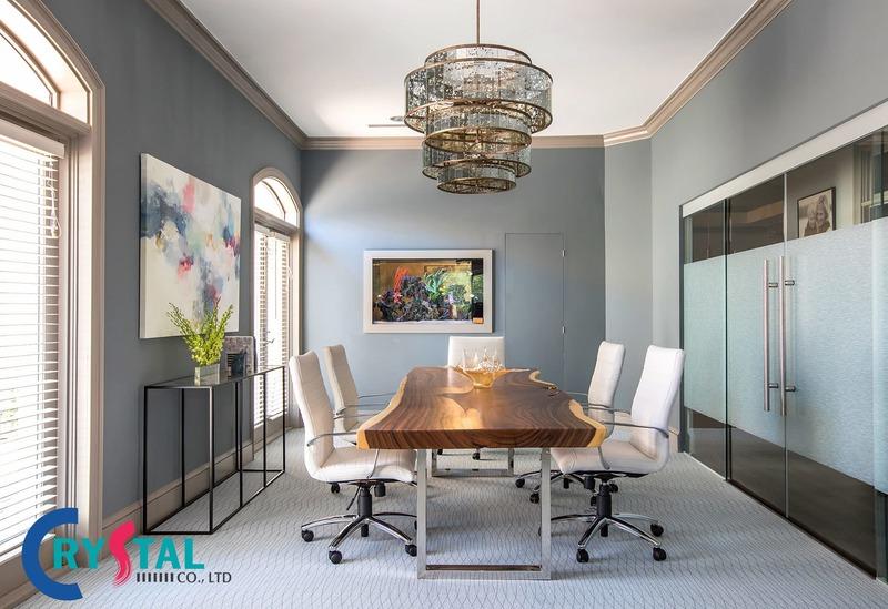 trang trí phòng làm việc công sở - Crystal Design TPL