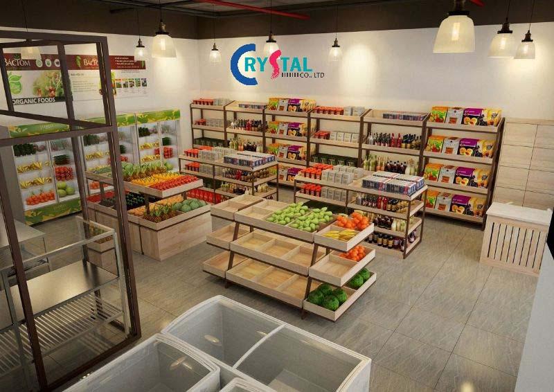 trang trí showroom - Crystal Design TPL